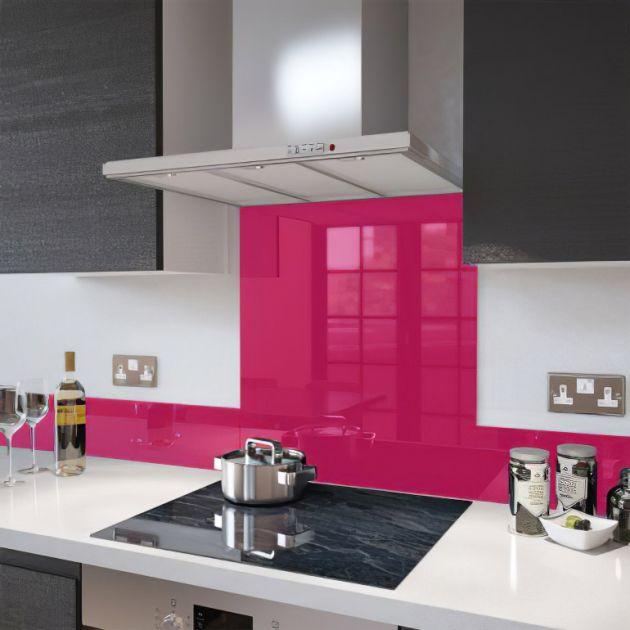 Revêtement décoratif rose brillant 2D. Luminis Films