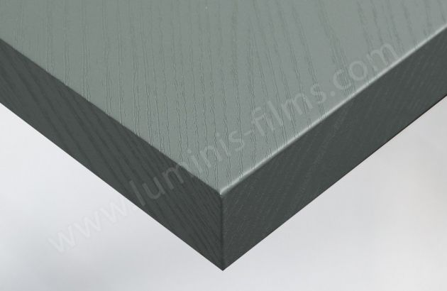 Adhésif imitation bois gris-bleu. Luminis Films