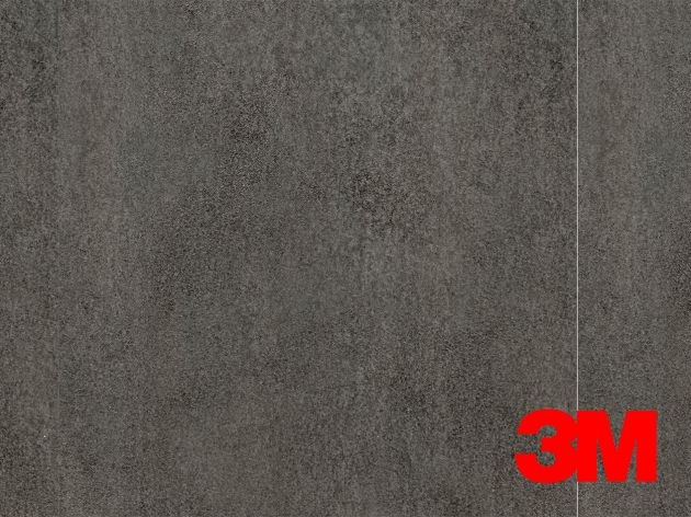 Revêtement décoratif DI-NOC 3M effet béton gris . Luminis Films