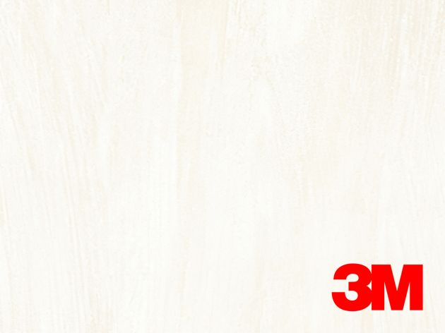 Revêtement décoratif DI-NOC 3M effet pierre blanche nacrée . Luminis Films