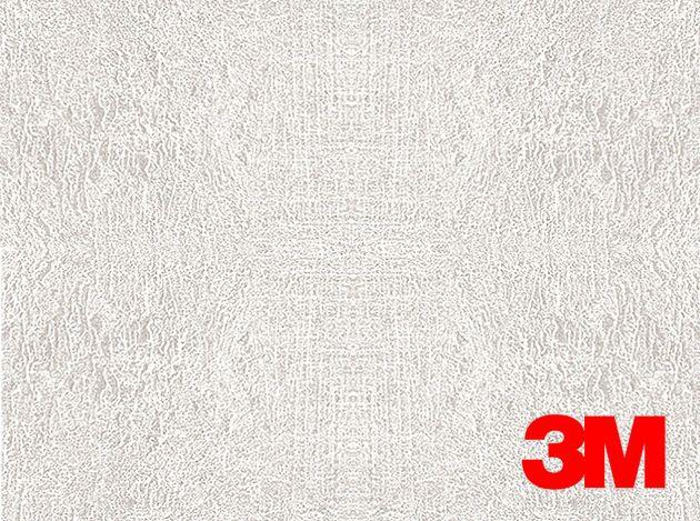 Revêtement décoratif DI-NOC 3M effet cuir blanc . Luminis Films