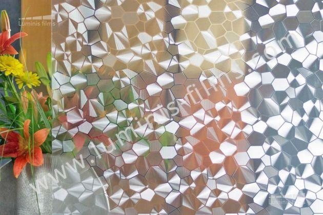 Film repositionnable à motifs diamants