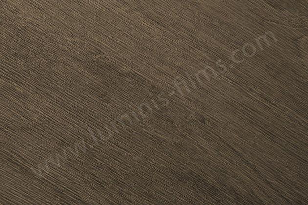Adhésif imitation bois ébène brun clair. Luminis Films