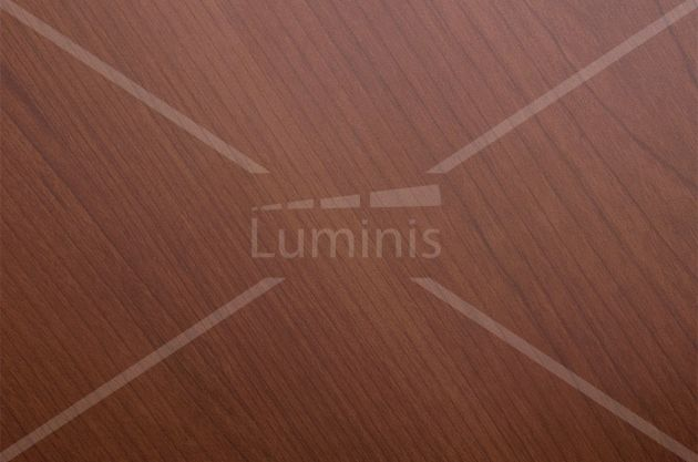 Revêtement mural ton bois acajou. Luminis-Films