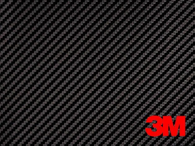 Revêtement décoratif DI-NOC 3M effet carbone noir . Luminis Films