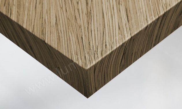 Papier adhésif bois zébré. Luminis-Films