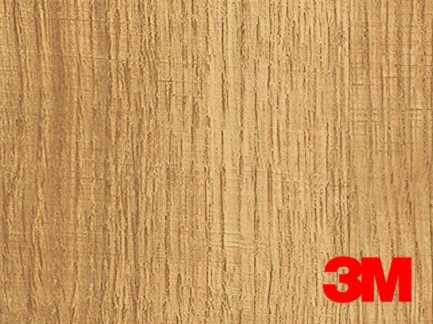 Revêtement décoratif DI-NOC 3M effet bois clair à nervures marrons. Luminis Films