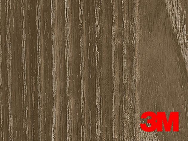 Revêtement décoratif DI-NOC 3M effet bois brut grisé. Luminis Films