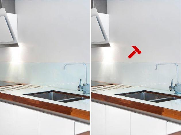 Film sécurité pour dos de miroir blanc. Luminis Films