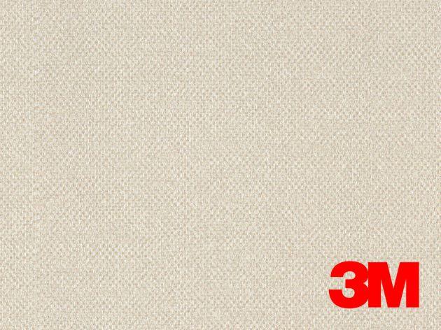 Revêtement décoratif DI-NOC 3M effet tissage beige rosé. Luminis Films