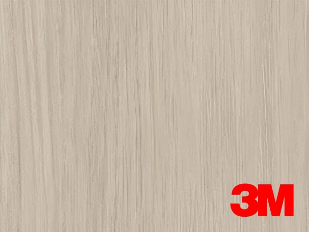 Revêtement décoratif DI-NOC 3M effet bois gris clair. Luminis Films