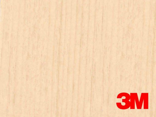 Revêtement décoratif DI-NOC 3M effet bois hinoki clair doré. Luminis Films