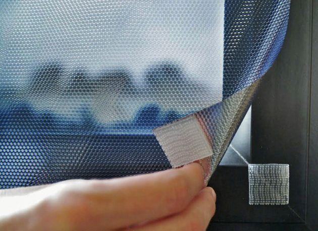 Film repositionnable anti chaleur noir à scratchs. Luminis Films