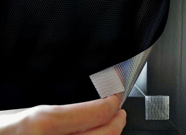 Film repositionnable opaque anti chaleur foncé à scratchs. Variance Auto