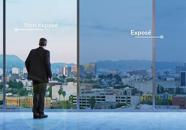 Film solaire photochromique anti-éblouissement. Luminis Films