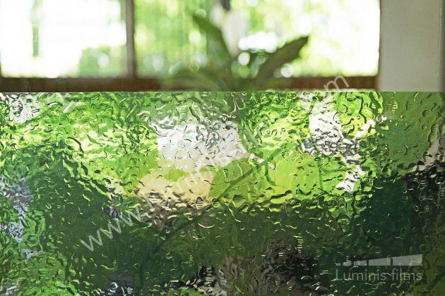 Film statique motifs feuilles vertes Verdure. Variance Auto