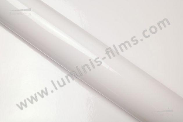 Revêtement décoratif blanc brillant 2D. Luminis Films