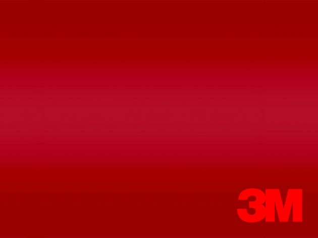 Revêtement décoratif DI NOC 3M rouge glossy. Luminis Films