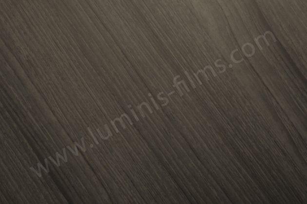 Papier adhésif bois chêne foncé mat. Luminis Films