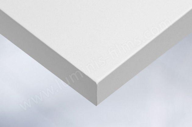 Adhésif blanc mat à fines paillettes. Luminis Films