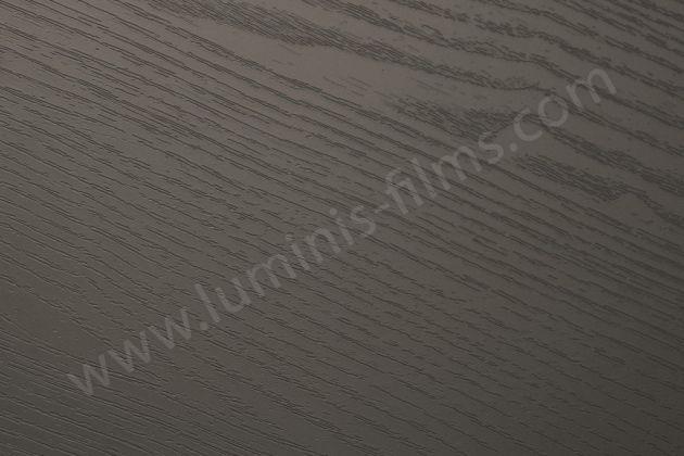 Adhésif bois gris foncé. Luminis Films