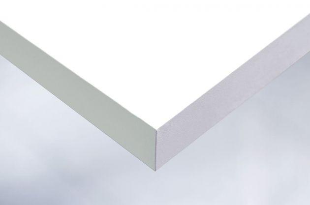 Papier adhésif blanc mat