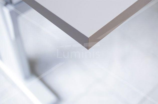 Papier adhésif blanc mat. Luminis-Films