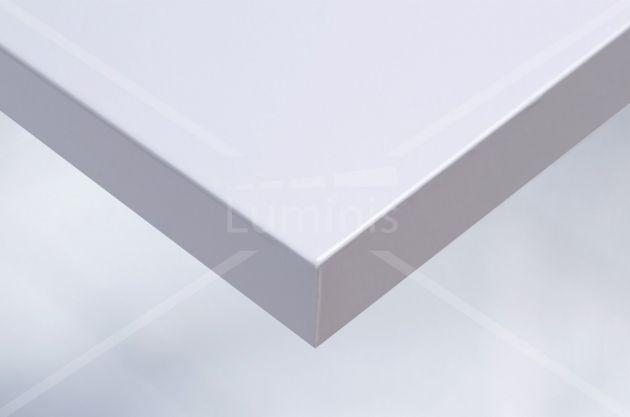 Vinyle adhésif blanc laqué. Luminis Films