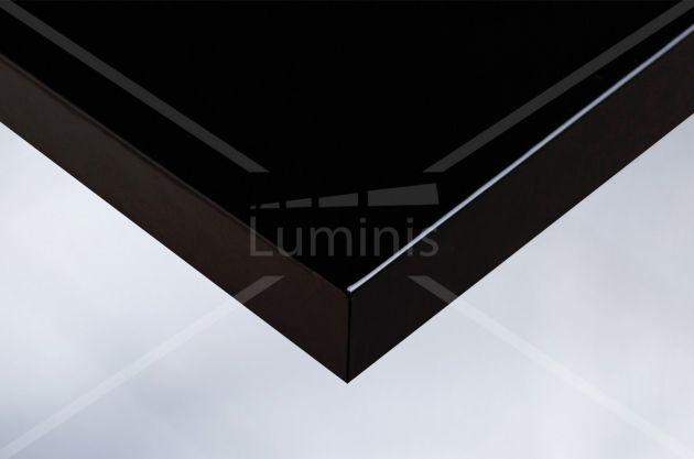 Vinyle décoratif noir laqué. Variance Auto
