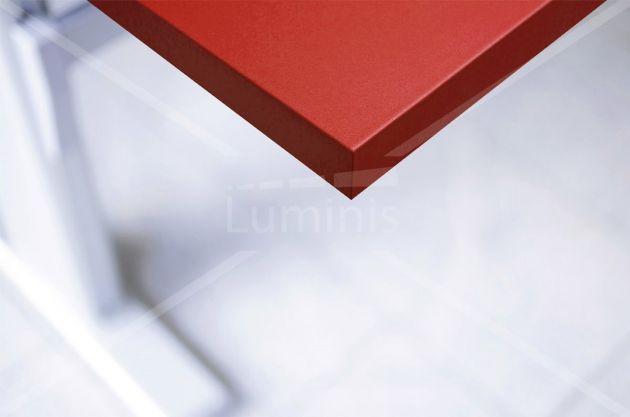 Papier autocollant rouge mat