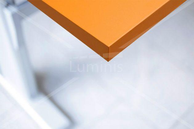 Film adhésif PVC orange mat