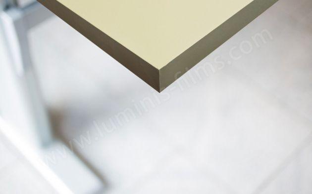 Adhésif mural beige mat