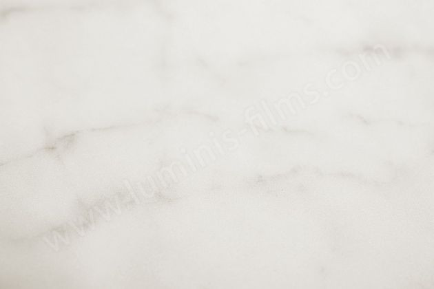 Revêtement décoratif marbre blanc mat. Luminis-Films