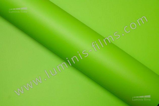 Revêtement décoratif vert mat 2D. Luminis Films
