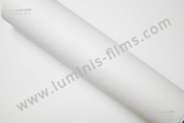 Revêtement adhésif blanc mat 3D. Luminis Films