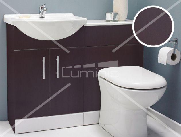 Revêtement mobilier marron chocolat mat - MAT-2319. Luminis Films