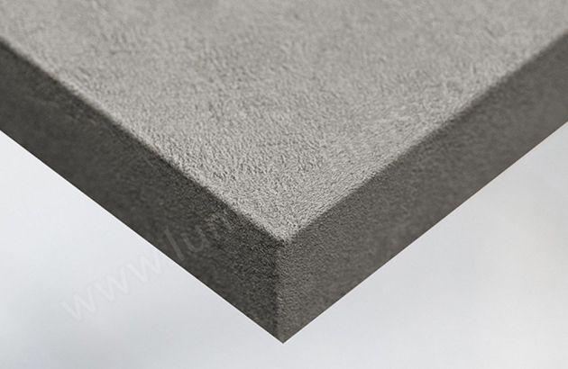 Revêtement décoratif béton gris en relief. Luminis Films
