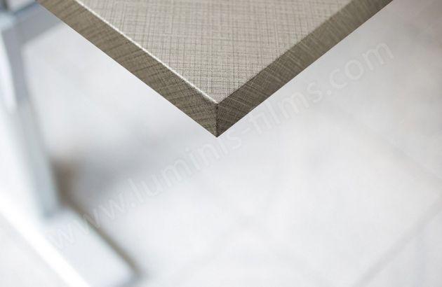 Adhésif décoratif imitation tissu à carreaux