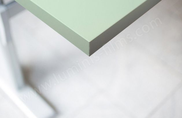 Adhésif couleur vert d'eau mat