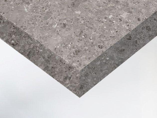 Adhésif décoratif effet marbre gris mat. Luminis Films