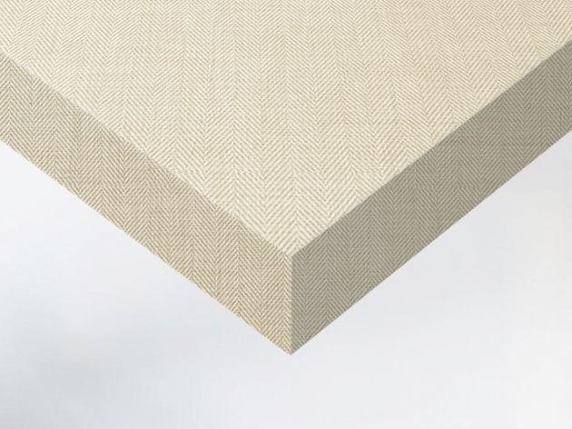 Adhésif décoratif imitation tissu chevron beige. Luminis Films