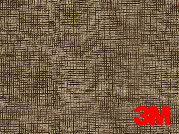 Revêtement décoratif DI-NOC 3M effet tissu marron. Luminis Films