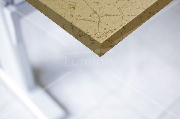 Adhésif pour meuble métal doré marbré