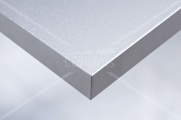 Film adhésif effet aluminium brossé. Luminis Films