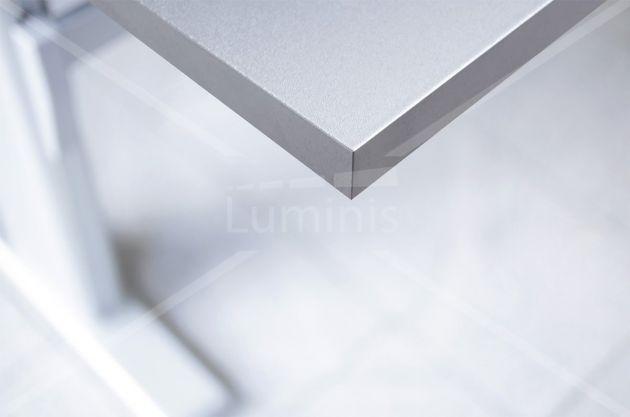 Film adhésif effet aluminium brossé
