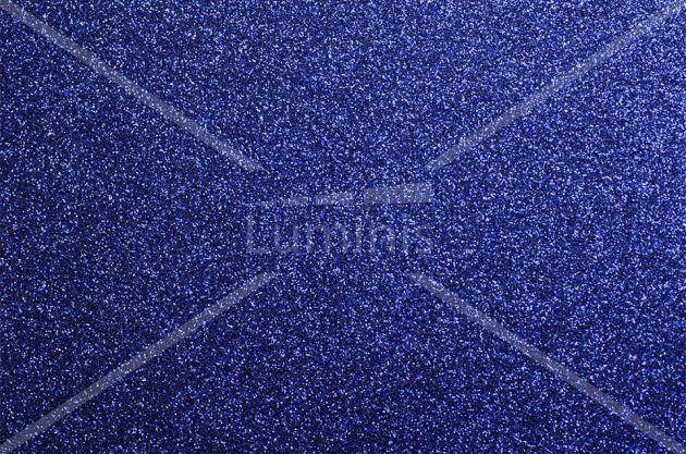 Revêtement décoratif pailleté bleu. Luminis Films