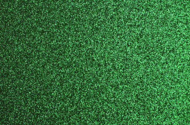 Revêtement mural pailleté vert. Luminis Films