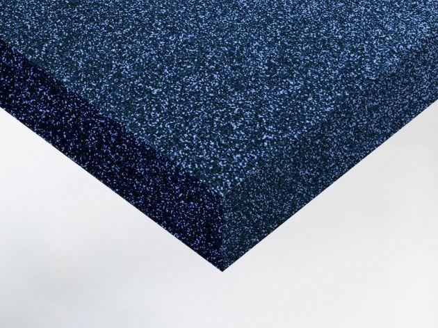 Adhésif décoratif pailleté bleu nuit. Luminis Films