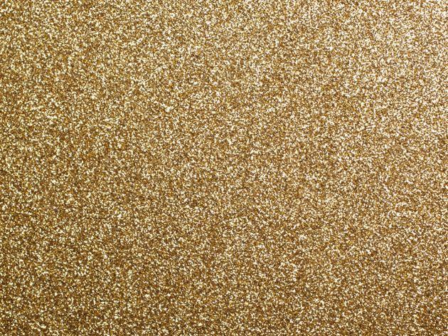 Adhésif décoratif pailleté doré. Luminis Films