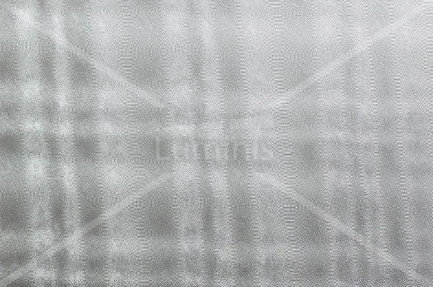 Adhésif crédence or blanc torsadé. Luminis Films